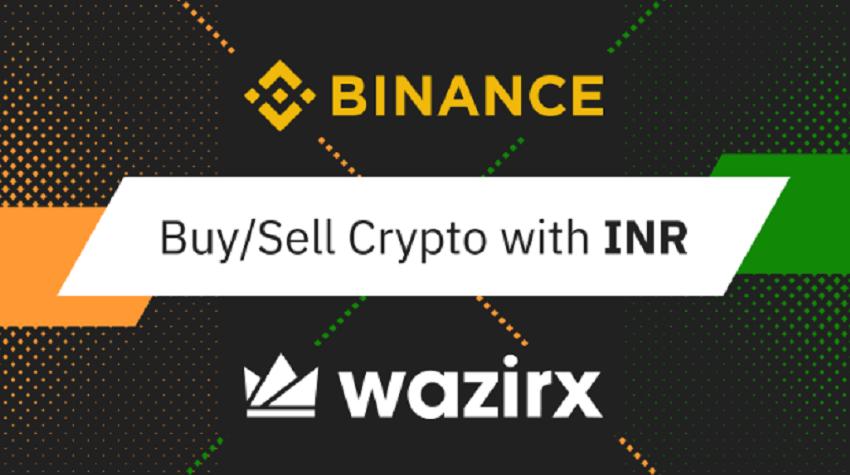 Buy crypto using INR