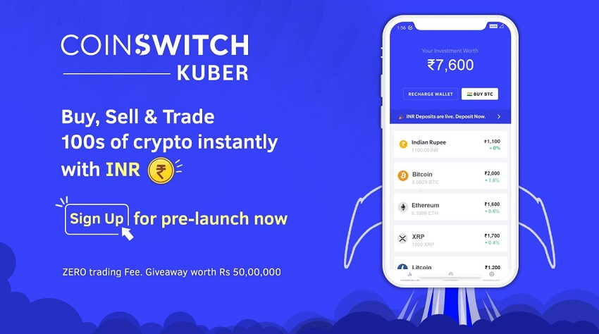 CoinSwitch Kuber