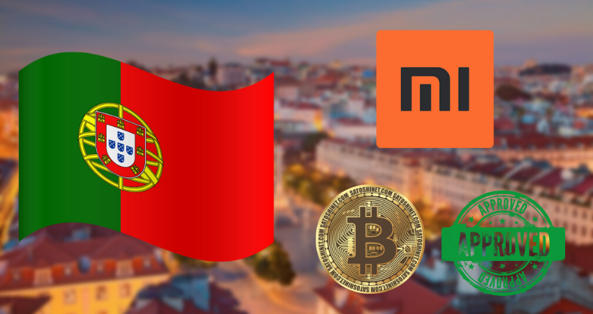 The Largest Smartphone Brand Xiaomi Now Accepts Bitcoin Payments in Portugal