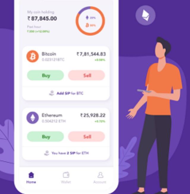 ZEBB App For SIP In Bitcoin And Ethereum